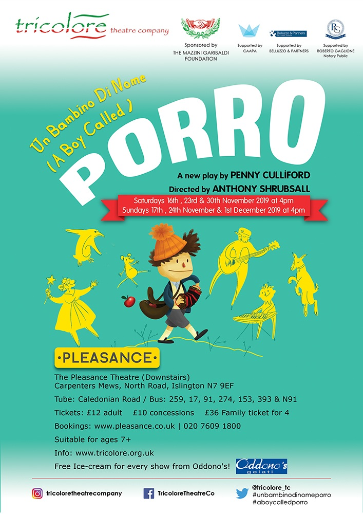 Click to book tickets for Porro
